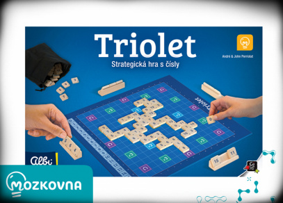 Triolet - hra z edice Mozkovna od Albi
