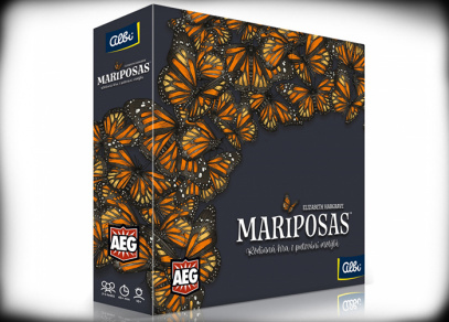 Mariposas - rodinná hra od Albi