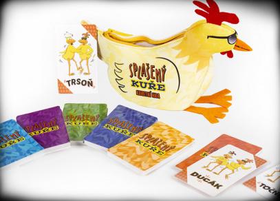 Splašený kuře - karetní hra od Albi