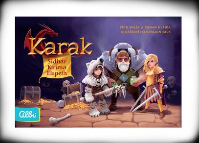 Karak - Noví hrdinové - Sidhar, Kirima & Elspeth