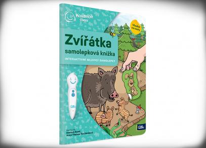 Samolepková knížka Zvířátka - Kouzelné čtení