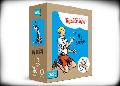 Albi - Rychlé šípy - Hry s míčky