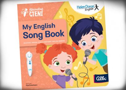 My English Song Book - kniha Kouzelné čtení