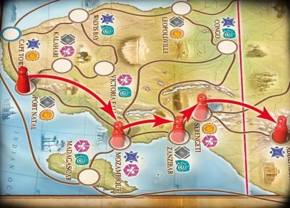 Dobrodružná hra pro celou rodinu - Afrika od ALBI