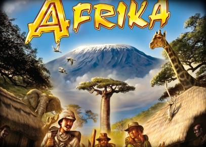Afrika - rodinná hra pro dobrodruhy