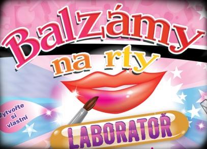 Laboratoř, se kterou si vyrobíte vlastní balzámy na rty!