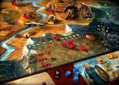 Andor - kooperativní strategická hra, která je kompletně v češtině