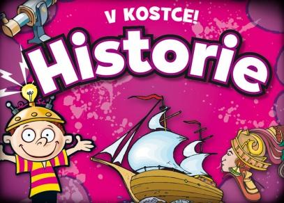 Další z řady vzdělávacích her V kostce! - tentokrát o historii