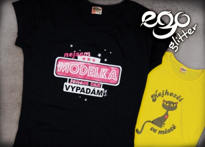 EGO trička pro ženy, které mají odvahu vystoupit z řady...