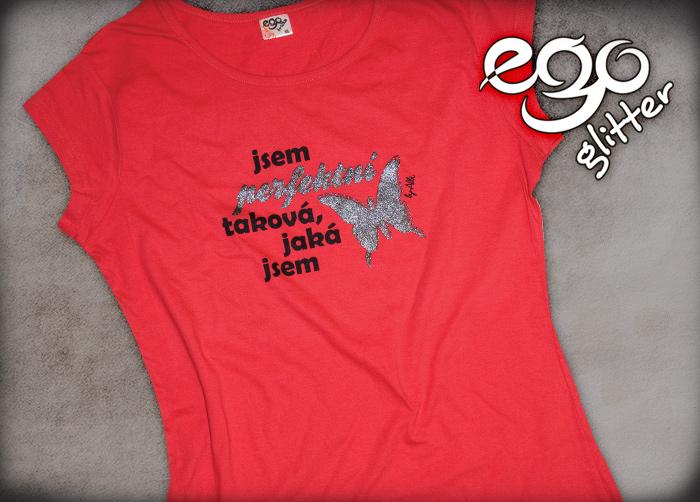e63b8058d4a ... Ego trička Glitter - Vyberte si z mnoha barev a různých potisků - EGO  trička od