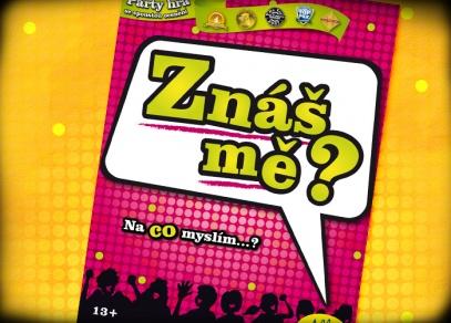 Znáš mě? - titulka zábavné párty hry od ALBI