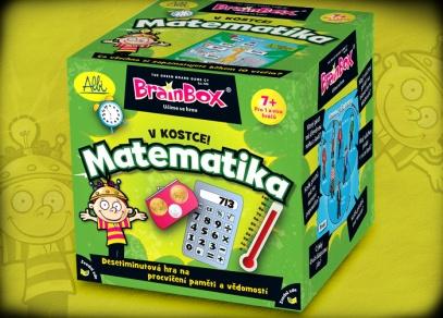 Hra Matematika z řady vzdělávacích her V kostce! od ALBI