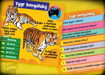 Zvířata V kostce! Seznamte se s tygrem ussurijským