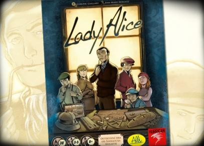 Detektivní rodinná hra, která se nikdy neohraje - Lady Alice