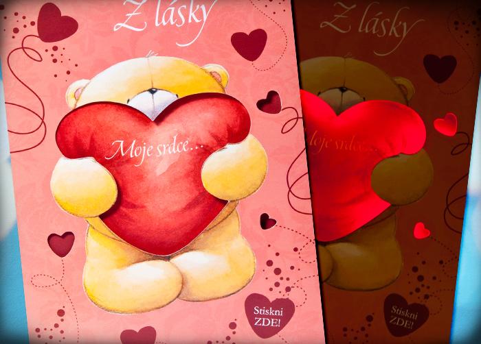 přání k narozeninám z lásky Svítící přání | Albi   malý dárek pro velkou radost přání k narozeninám z lásky