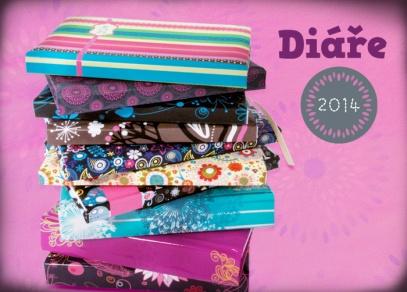 Diáře 2014 pro barevné plánování od ALBI