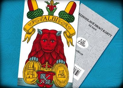 ALBI sada jednohlavých karet na Mariáš