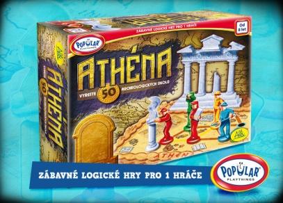Hra Athéna - 50 logických hádanek pro jednoho...