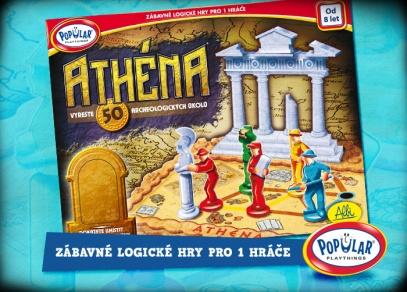 Athéna - logická hra pro 1 hráče z řady Popular