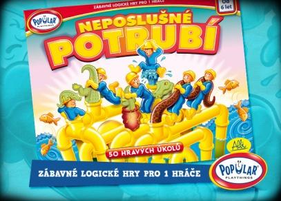 Hra pro jednoho hráče - Neposlušné potrubí