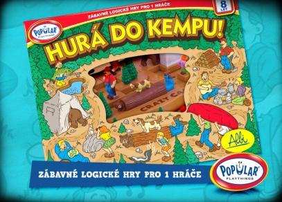 Nádherně zpracované hry Popular si oblíbí děti i dospělí...