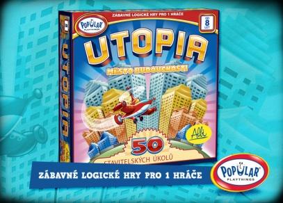 Utopia - zábavná logická hra pro 1 hráče z řady Popular