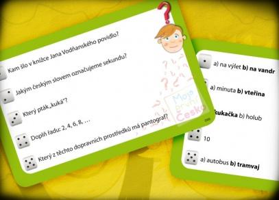Jednodušší otázky - hra Moje první Česko