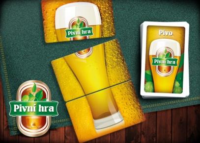 Složte z karet pivo a další pivo bude na účet soupeře...