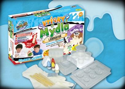Vtípky z mýdla - laboratoř