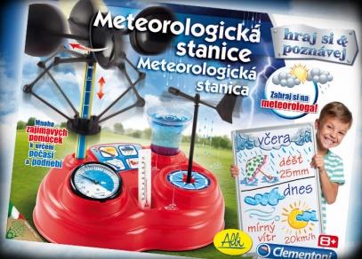 Naučte se měřit rychlost větru, množství srážek, vlhkost a průměrné teploty.