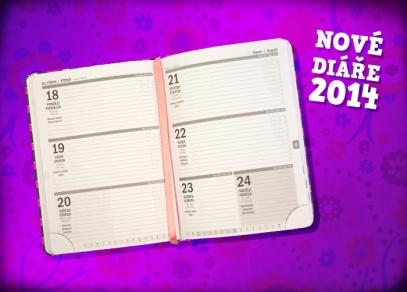 Barevné týdenní diáře v pevné měkčené vazbě s laminací - diář, který Vám vydrží celý rok