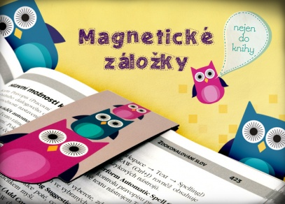 Magnetické záložky s roztomilými designy od ALBI