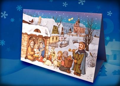 Tradiční vánoční přání