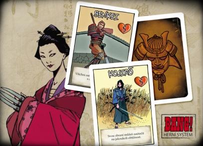 Karetní hra obsahuje 110 karet, 66 žetonů a pravidla.