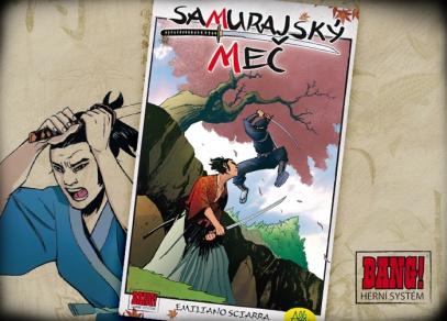 Samurajský meč - karetní hra s herním systémem BANG!