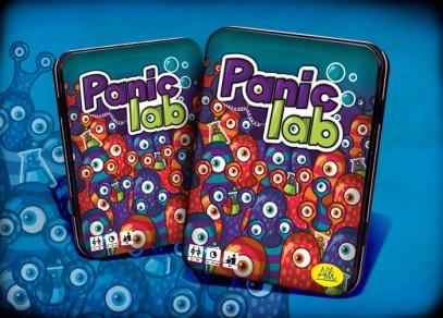 Postřehová hra Panic lab od ALBI