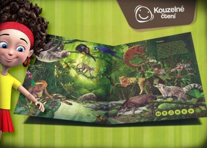 V knize je detailně zpracováno osm různých prostředí od českého lesa, přes alpské pohoří a pouště až po korálový útes...
