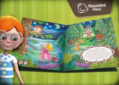 O perníkové chaloupce - interaktivní kniha ilustrátorky Ladislavy Pechové