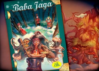 Baba Jaga - pohádková hra od ALBI