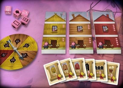 Pohádková hra Tři malá prasátka pro celou rodinu!