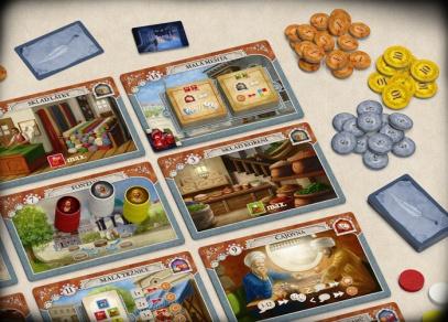 Další ze skvělých strategických her od ALBI - Istanbul!