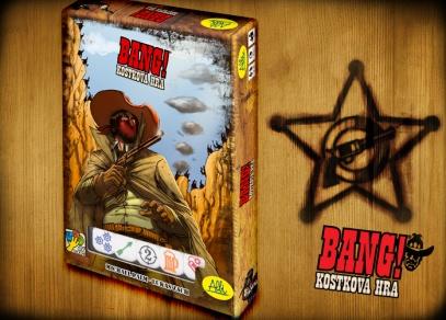 BANG! Kostková hra - skvělá zábava, ke které nepotřebujete základní hru BANG!