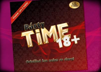 Párty Time 18+ - odvážná hra pro párty i dvojice