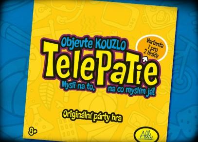 Telepatie - originální párty hra od ALBI pro celou rodinu
