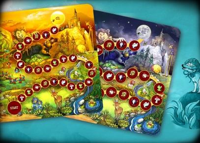 Originální dětská hra se dvěma herními plány
