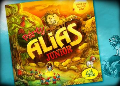 Párty Alias Junior - dětská hra pro nejmenší - už od 4 let