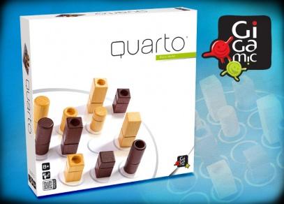 Quarto - abstraktní strategická hra od ALBI