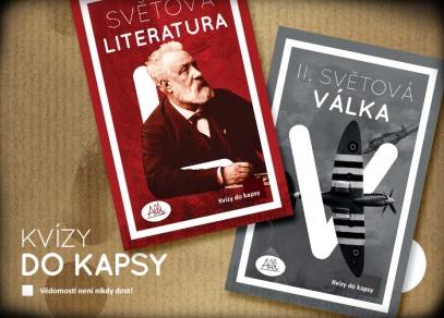Kvízy do kapsy - Světová literatura a 2. světová válka