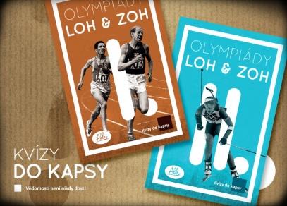 Olympiády - 600 otázek ve dvou krabičkách