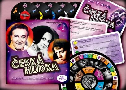 Česká hudba - Česká hudba - z obsahu krabice